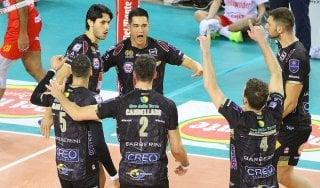 Volley, Coppa Italia: la Lube alla Final Four, travolta Vibo Valentia
