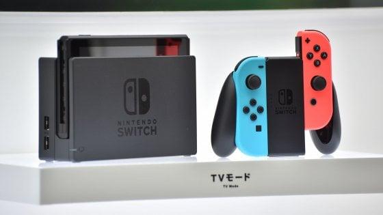 Nintendo svela Switch, videogiochi tra console e tablet