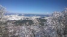 A sciare immersi nel blu. Emozione Calabria dinverno