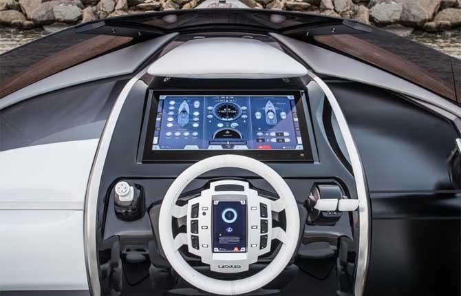Concept Sport Yacht, non solo auto per Lexus