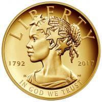 Usa, per la prima volta Lady Libertà è afro-americana: la nuova moneta coniata dal Tesoro