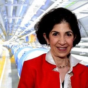 """Fabiola Gianotti: """"Guidare il Cern è come fare il sindaco"""""""