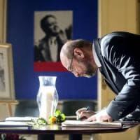 """Martin Schulz: """"L'Ue pensi al futuro dei nostri figli, solo così i sacrifici sono..."""