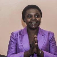 """Cécile Kyenge: """"Dissi che la Lega è razzista, il giudice mi ha dato ragione"""""""