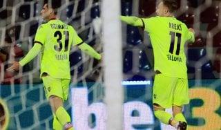 Crotone-Bologna 0-1: Dzemaili affonda i calabresi