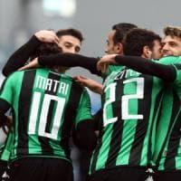 Sassuolo-Palermo 4-1: torna Berardi e i neroverdi vincono
