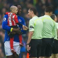 Inghilterra, Lukaku e il piccolo Bradley in campo contro la malattia