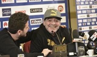 """Napoli, Maradona: """"Ho parlato con De Laurentiis, voglio un club all'altezza della Juve"""""""
