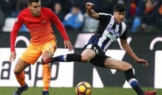 Le pagelle di Udinese-Roma: Felipe distratto, da Strootman ordine e qualità