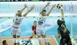 Volley, Superlega: Perugia scavalca Trento, la Lube allunga ancora