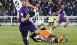 Fiorentina-Juventus 2-1: Kalinic e Badelj riaprono il campionato