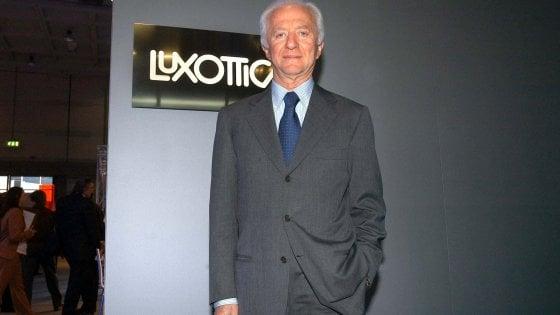 """Fusione da 50 miliardi tra Luxottica e la francese Essilor. Del Vecchio: """"La sognavo da 50 anni"""""""