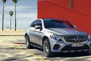 Mercedes GLC coupé, quante idee