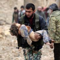 Siria allarme Onu: 300mila bambini bloccati dall'assedio