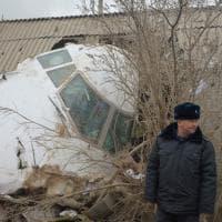 Kirghizstan: cargo turco precipita sul villaggio