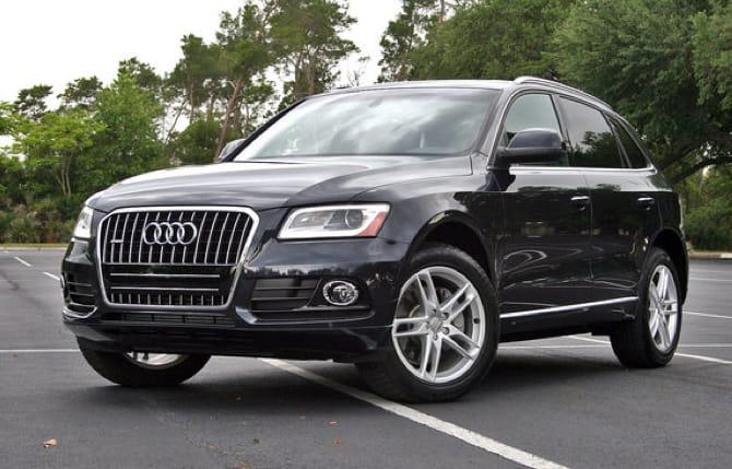 Audi Q5, tutta una sorpresa