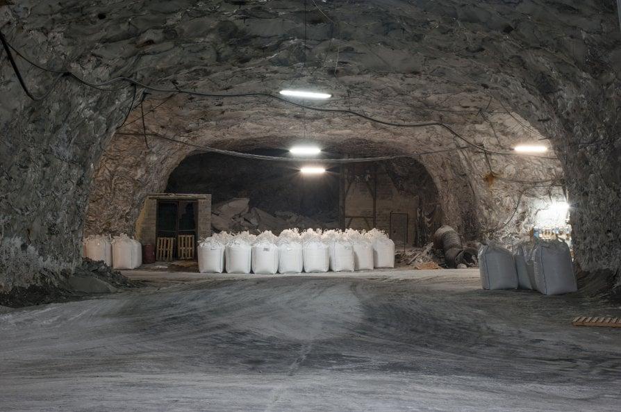 Il fiume di sale nelle viscere della Sicilia
