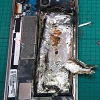L'estintore molecolare per le batterie che esplodono