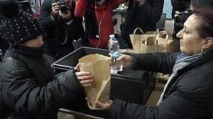 McDonald's di Borgo Pio pasti gratis ai clochard