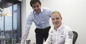 Bottas-Mercedes, è ufficiale ''Voglio arrivare in alto''