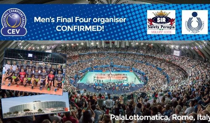 Volley, la Champions torna in Italia. A Roma la Final Four