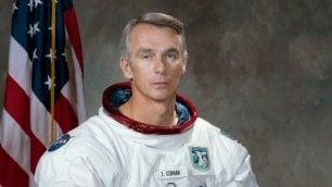 Addio all'astronauta Gene Cernan  L'ultimo uomo sulla Luna