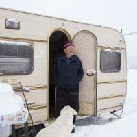 Terraproject, Accumoli sommerso dalla neve: gli allevatori resistono al gelo