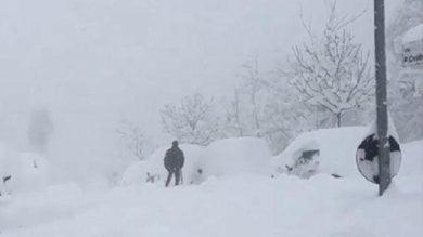 """Abruzzo, A14 chiusa per ore -   meteo       """"Un quarto dei cittadini è senza luce"""""""