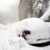 Maltempo, neve abbatte cavo in autostrada: chiusa A14 in Abruzzo
