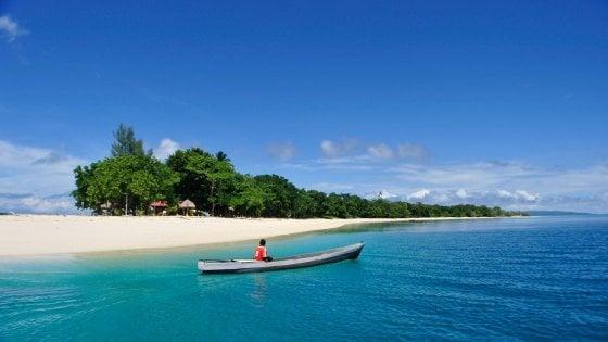 Dare il proprio nome a un'isola da sogno? In Indonesia si può