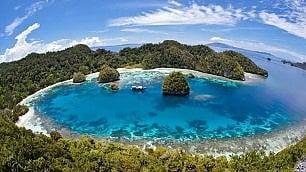 Il tuo nome a un'isola da sogno Adesso in Indonesia si può