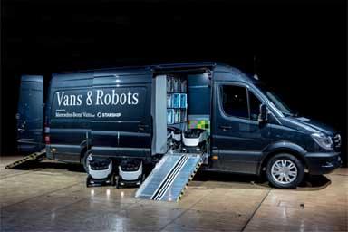 Mercedes-Benz Vans punta su Starship Technologies