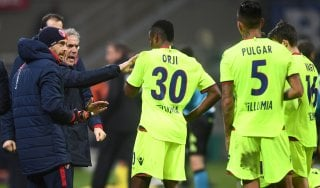"""Bologna, Donadoni: """"Giocato alla pari, meritavamo di più"""""""