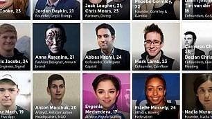Forbes, gli under 30 più influenti  C'è anche un hacker italiano