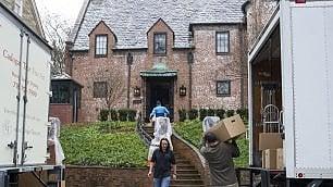 Benvenuti a villa Obama Via al trasloco nella nuova casa