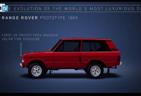 Range Rover, l'evoluzione dello stile in 48 anni