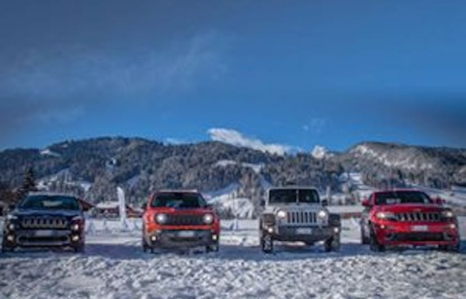 """Radio Deejay Xmasters - Action Sport Music Show"": Jeep ancora protagonista"