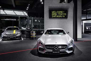 Mercedes-AMG, inaugurato a Tokyo lo showroom del futuro