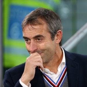"""Sampdoria, Giampaolo: """"Guai a non provarci, ma la formula di coppa è penalizzante"""""""