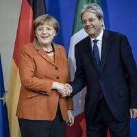 "Fca, Gentiloni a Merkel: ""Noi decidiamo secondo le nostre leggi"""