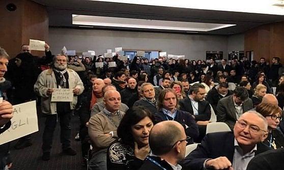 """I giornalisti di Sky Tg 24: """"No al trasferimento a Milano"""".  La minaccia dello sciopero"""