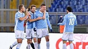 Lazio, poker al Genoa /   pagelle   Nei quarti sfiderà l'Inter
