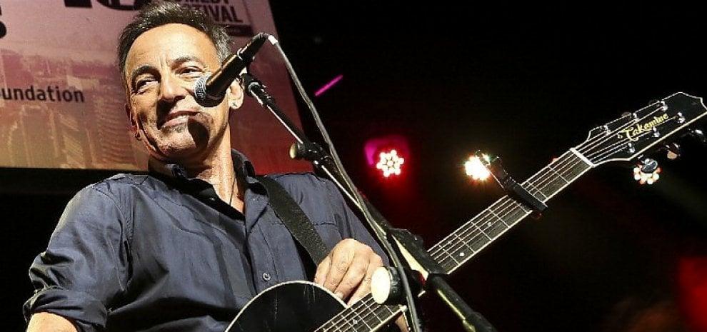 Bruce Springsteen, un concerto segreto alla Casa Bianca