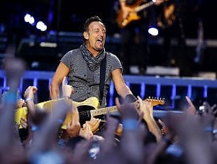Springsteen, concerto segreto alla Casa Bianca