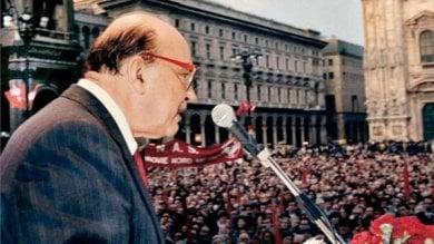 """Milano, Sala: """"Dedicare un luogo a Craxi? Parliamone, sono favorevole ad aprire il dibattito"""""""