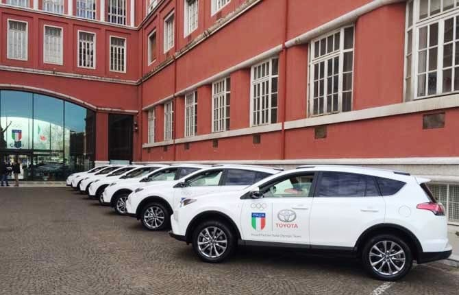 Toyota Italia e Coni, al via la partnership