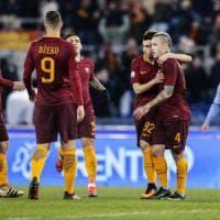 Roma-Sampdoria 4-0: super Nainggolan, giallorossi ai quarti