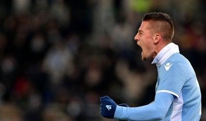 """Milinkovic si gode il momento super """"Ora vogliamo la Champions"""""""