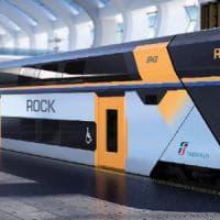 Pistoia, Trenitalia presenta Rock: il nuovo convoglio per i pendolari