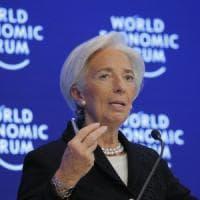 """Trump, Lagarde chiude preoccupata Davos: """"Grandi rischi nel 2017"""""""